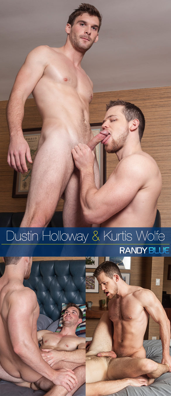 Randy Blue: Dustin Holloway and Kurtis Wolfe flip fuck