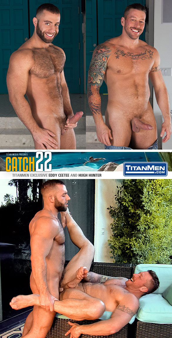 "TitanMen: Eddy CeeTee fucks Hugh Hunter in ""Catch 22"""