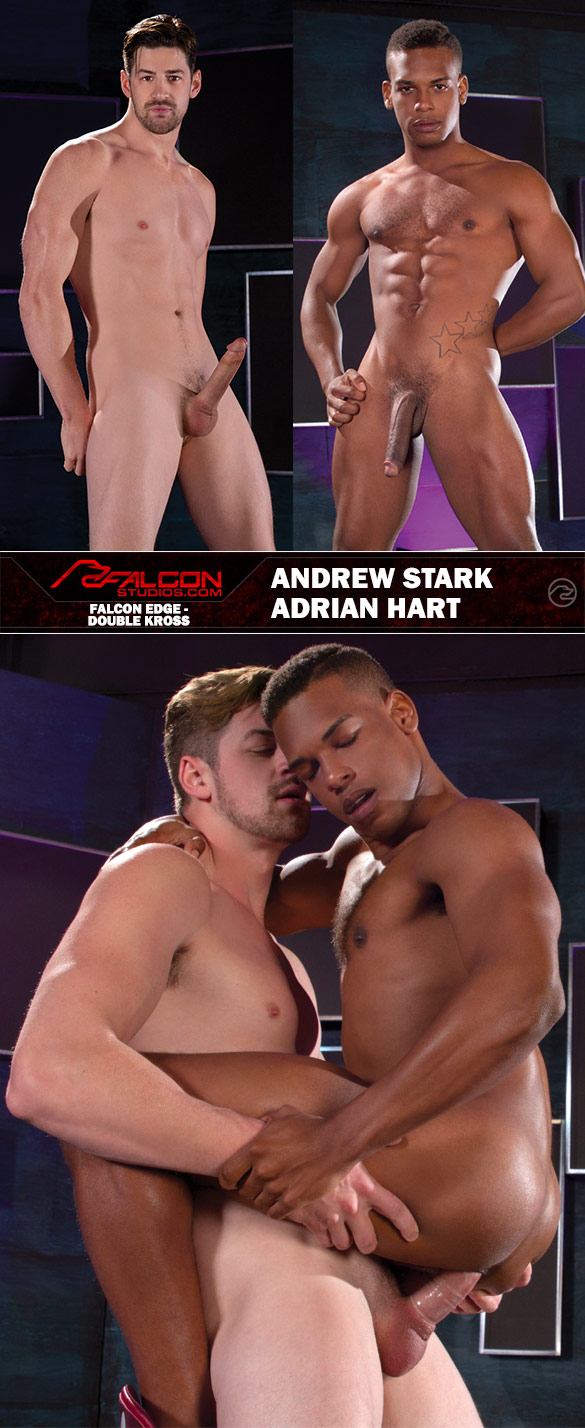 "Falcon Studios: Andrew Stark fucks Adrian Hart in ""Double Kross"""