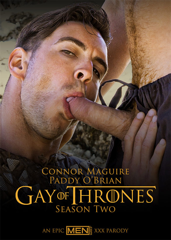 "Men.com: Connor Maguire and Paddy O'Brian flip fuck in ""Gay of Thrones, Part 5"""