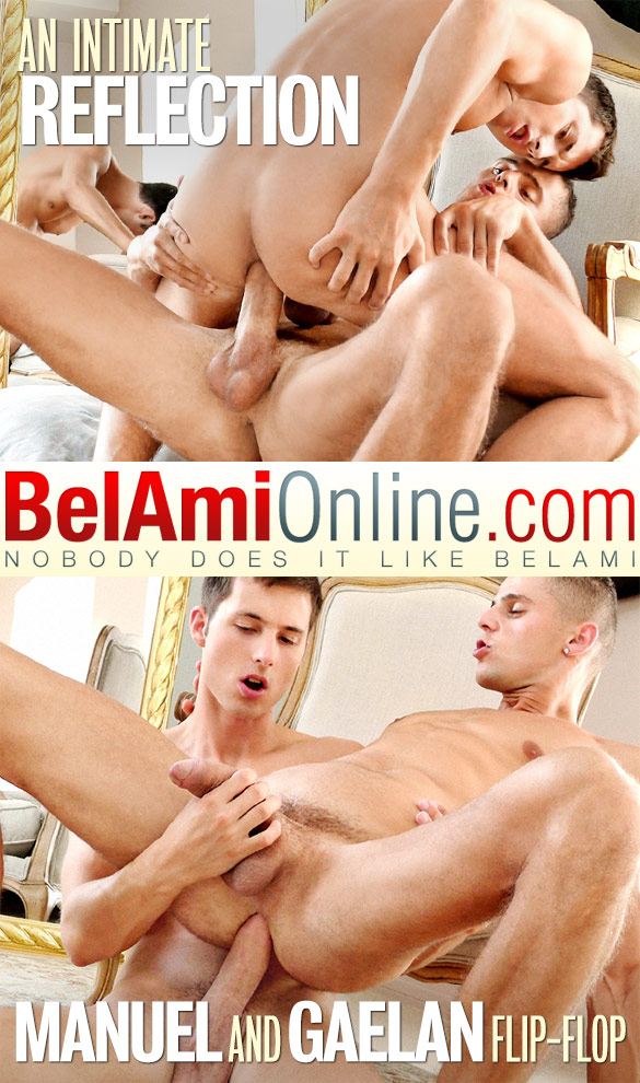 BelAmi: Manuel Rios and Gaelan Binoche fuck each other raw