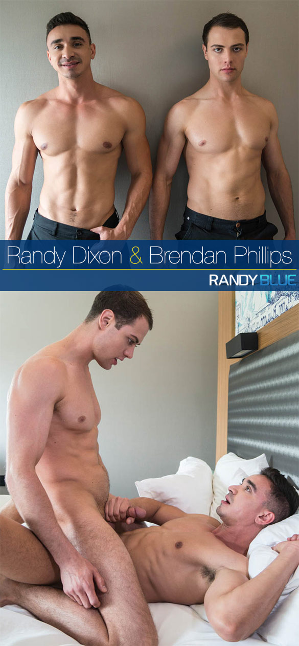 Randy Blue: Randy Dixon creampies Brendan Phillips