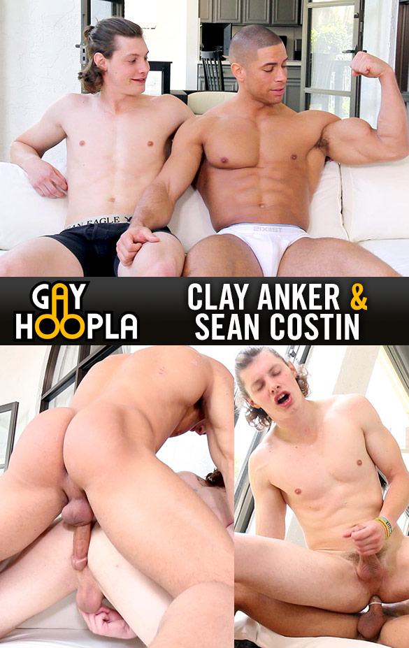 GayHoopla: Sean Costin fucks Clay Anker