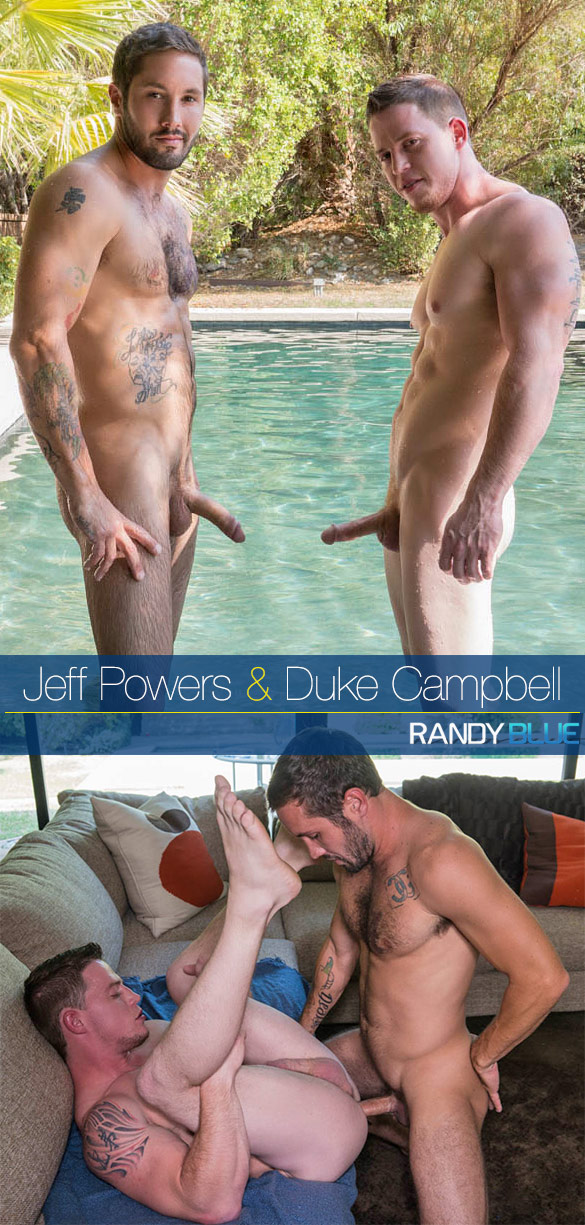 Randy Blue: Jeff Powers creampies Duke Campbell