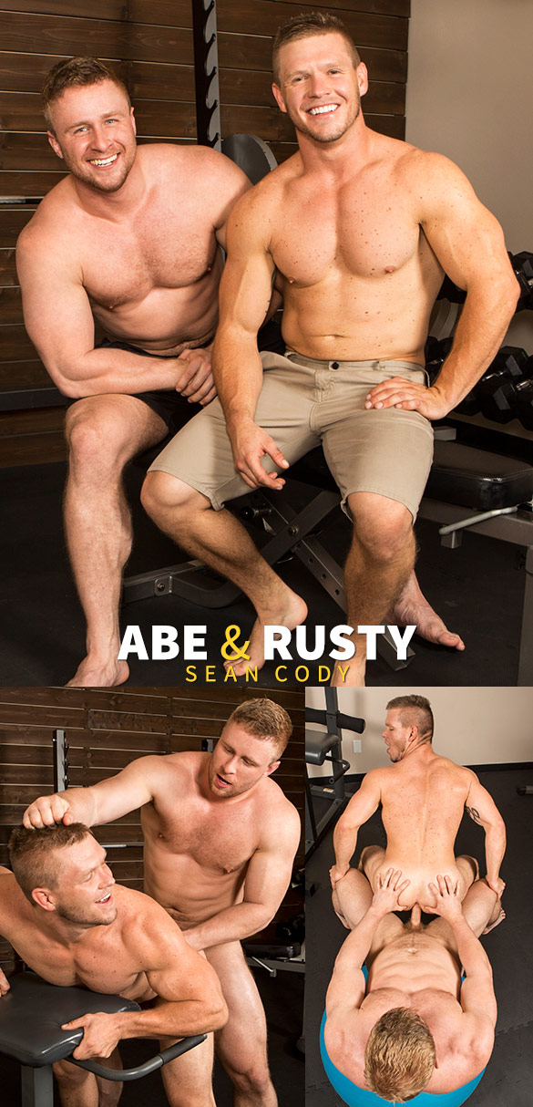 Sean Cody: Abe returns to pound Rusty bareback