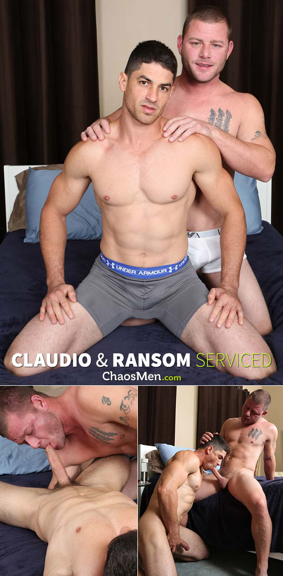 ChaosMen: Claudio and Ransom blow each other