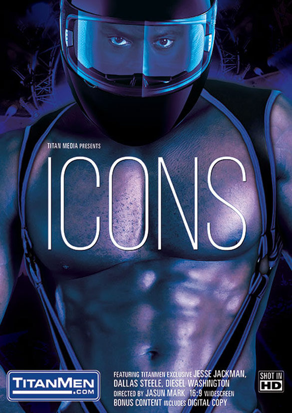 "TitanMen: Diesel Washington, Colt Rivers, Dallas Steele, JJ Thick, Jesse Jackman and Tex Davidson in ""Icons"""