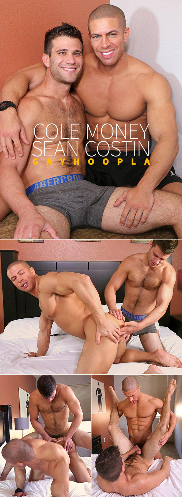 GayHoopla: Cole Money and Sean Costin flip fuck