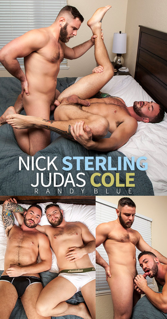 Randy Blue: Nick Sterling fucks Judas Cole raw