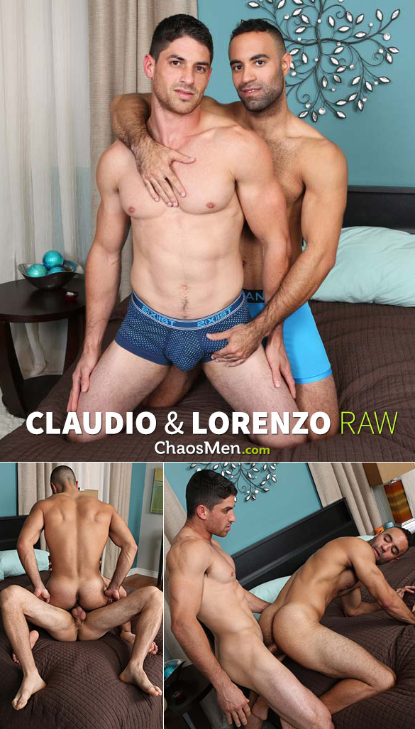 ChaosMen: Claudio fucks Lorenzo raw