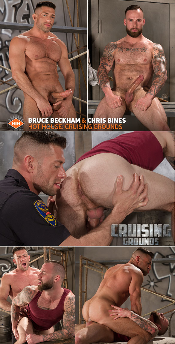 "HotHouse: Chris Bines and Bruce Beckham flip fuck in ""Cruising Grounds"""