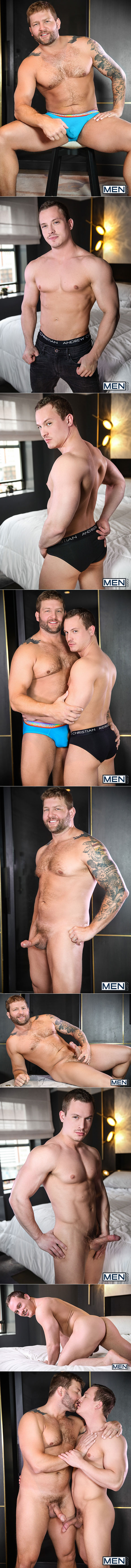 "Men.com: Tommy Regan rides Colby Jansen in ""Spymaster, Part 3"""