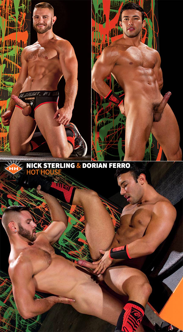 HotHouse: Nick Sterling bangs Dorian Ferro
