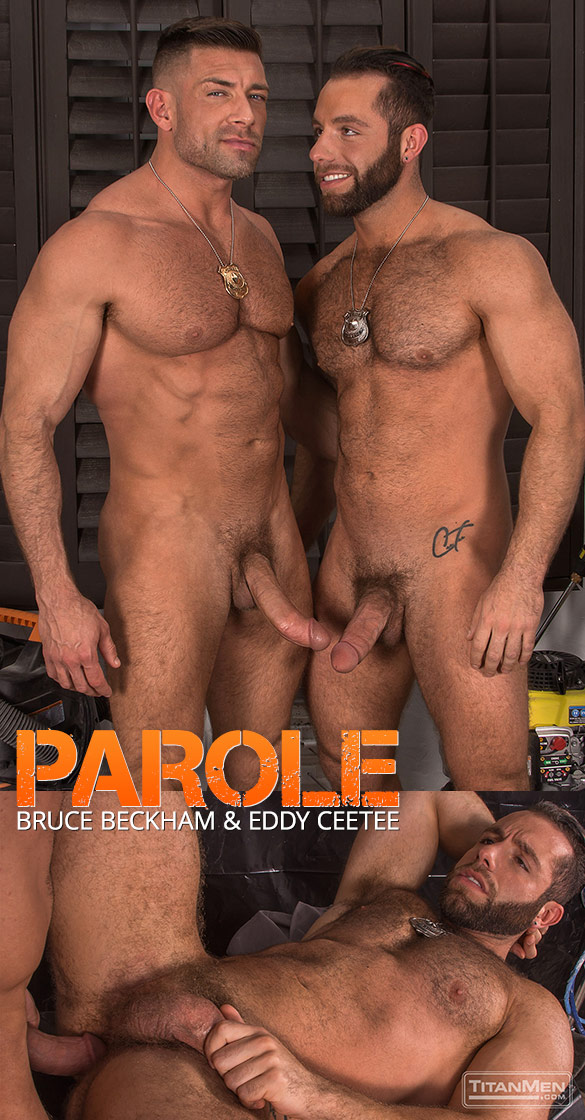 "TitanMen: Bruce Beckham and Eddy CeeTee bang each other in ""Parole"""