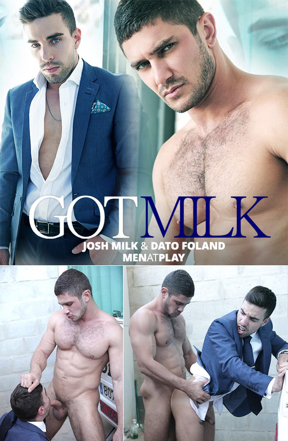 "MenAtPlay: Josh Milk bottoms for Dato Foland in ""Got Milk"""