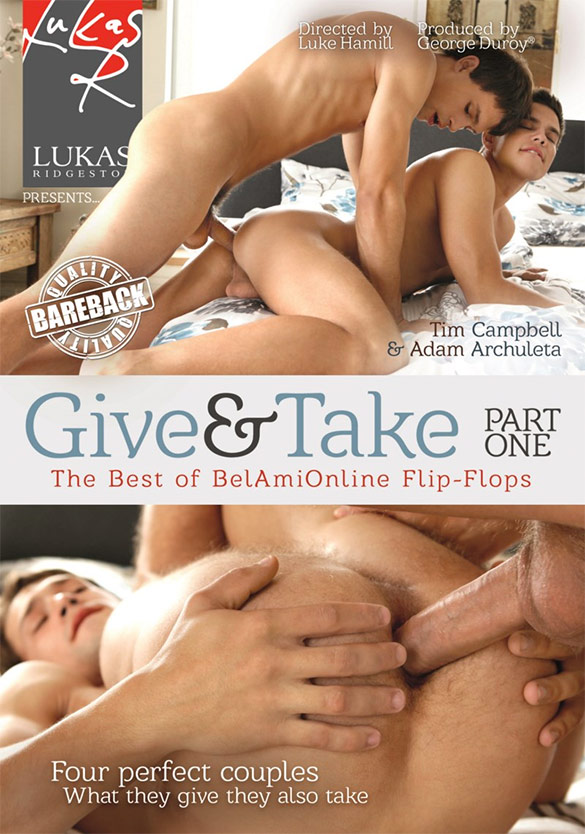 "NakedSword: BelAmi's ""Give & Take - Part One"""