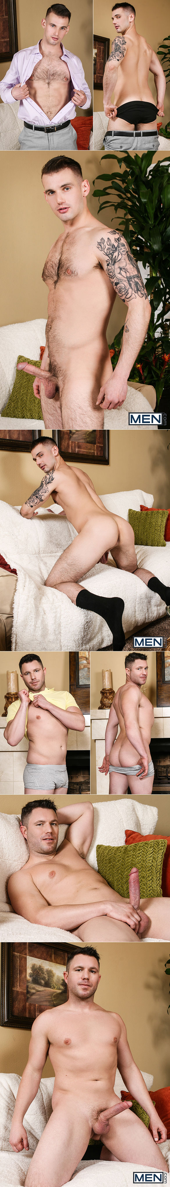 "Men.com: Travis James fucks Chris Harder in ""Working the Case"""