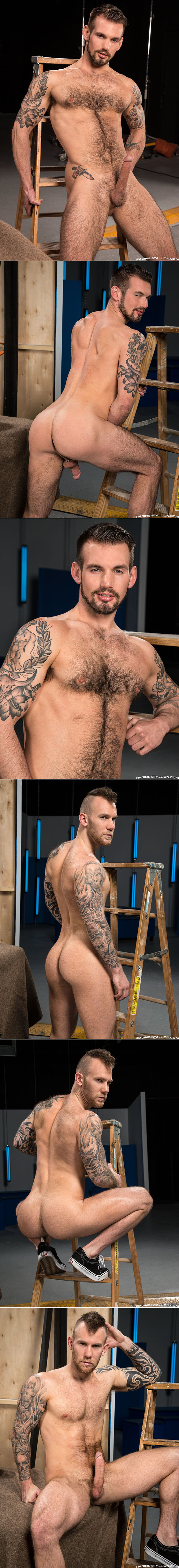 "Raging Stallion: Chris Harder and Damien Michaels bang each other in ""Backstage Pass 2"""