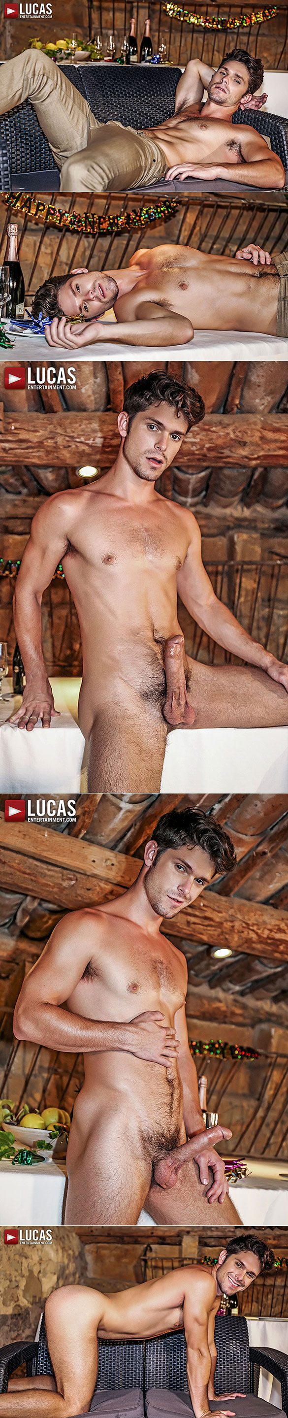 Lucas Entertainment: Ibrahim Moreno and Devin Franco's raw New Year's Eve fuck