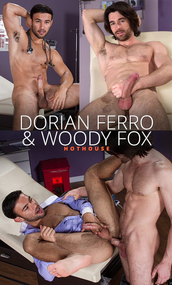 "HotHouse: Woody Fox fucks Dorian Ferro in ""Internal Specialists"""