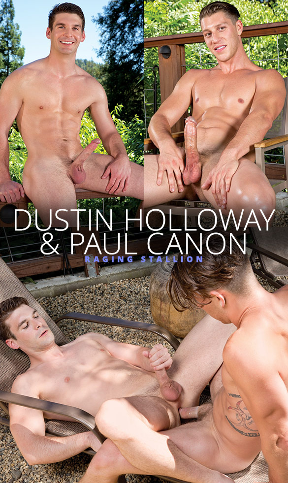 Raging Stallion: Dustin Holloway bottoms for Paul Canon
