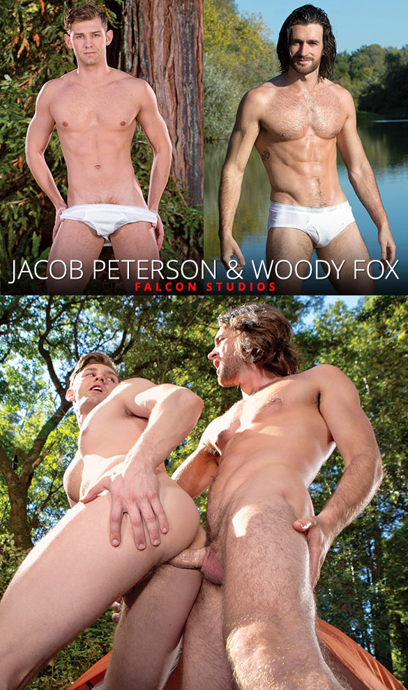 "Falcon Studios: Woody Fox fucks Jacob Peterson in ""Pitching Tents"""