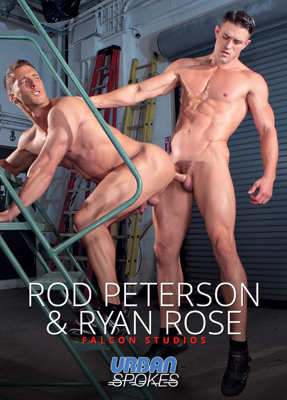 "Falcon Studios: Ryan Rose drills Rod Peterson in ""Urban Spokes"""