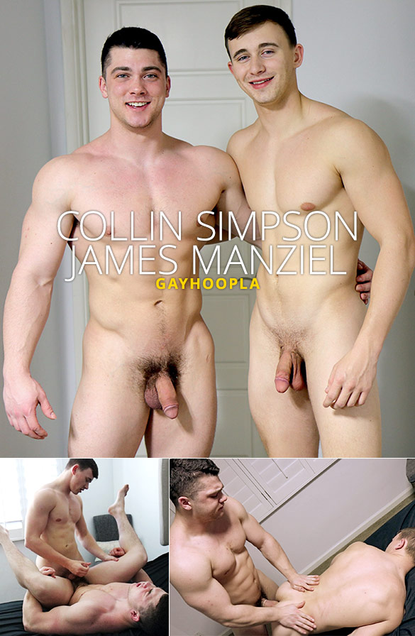 GayHoopla: Collin Simpson and James Manziel flip fuck