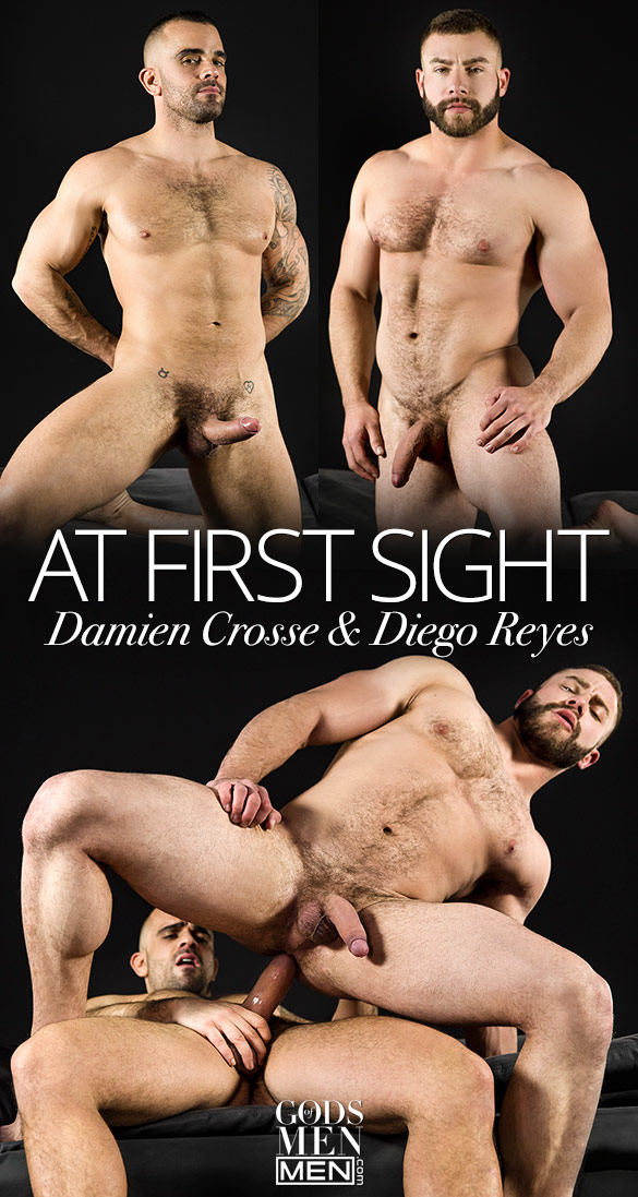"Men.com: Damien Crosse fucks Diego Reyes in ""At First Sight"""