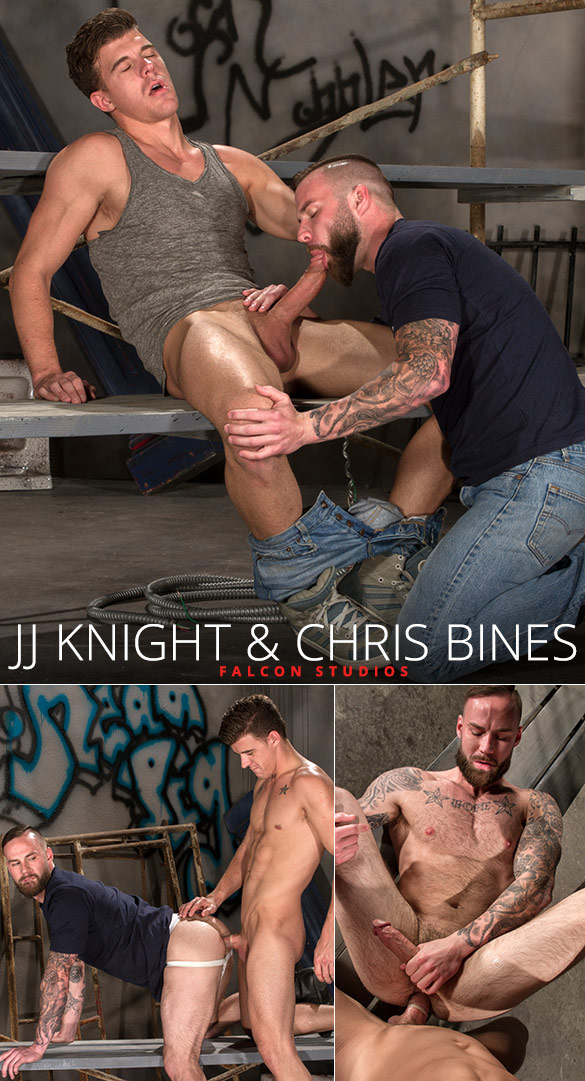 Falcon Studios: Big-dicked JJ Knight fucks Chris Bines