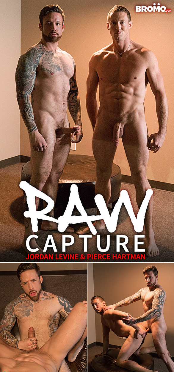 "Bromo: Jordan Levine slams Pierce Hartman in ""Raw Capture"""