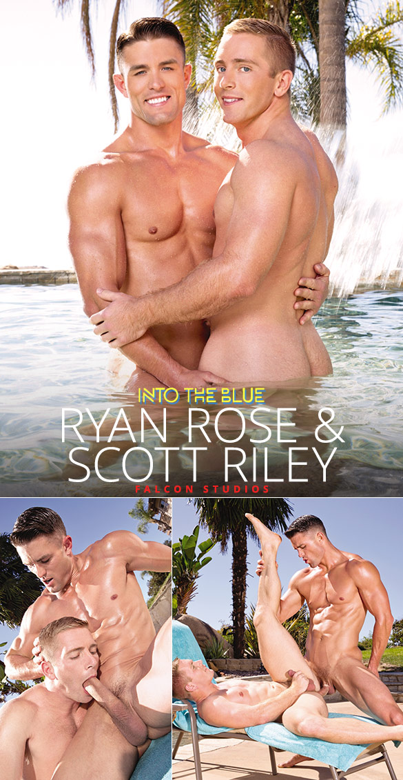 "Falcon Studios: Ryan Rose pounds Scott Riley in ""Into the Blue"""