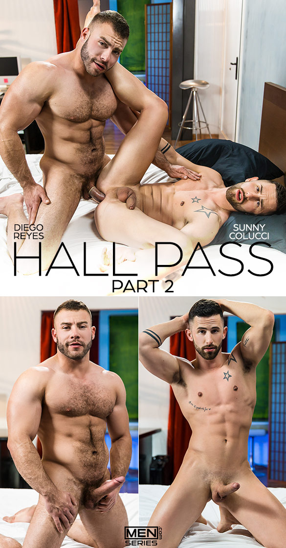 "Men.com: Diego Reyes bangs Sunny Colucci in ""Hall Pass, Part 2"""