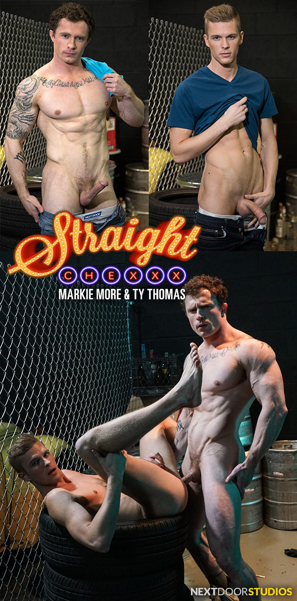 "Next Door Studios: Markie More fucks Ty Thomas in ""Straight Chexxx, Episode 2: Noises Off"""
