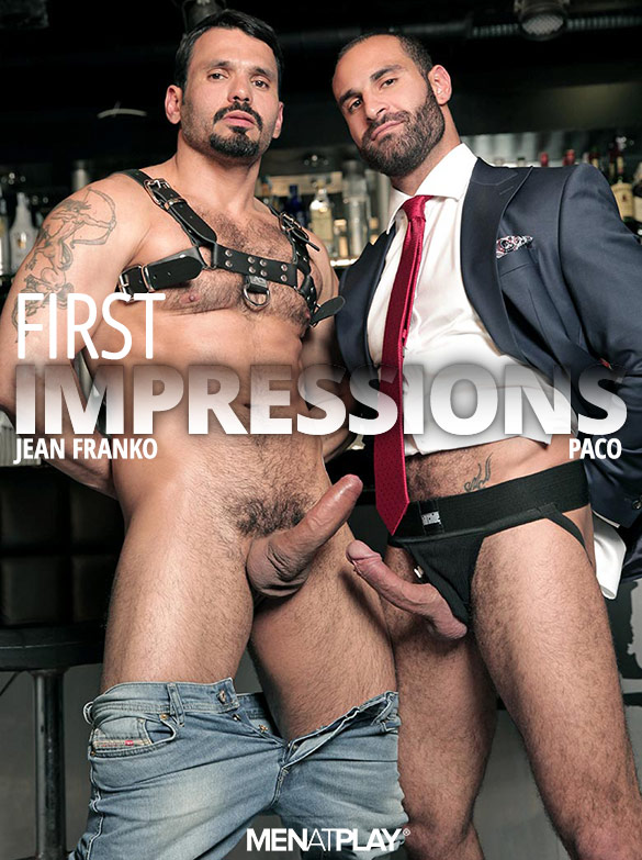 "MenAtPlay: Jean Franko pounds Paco in ""First Impressions"""