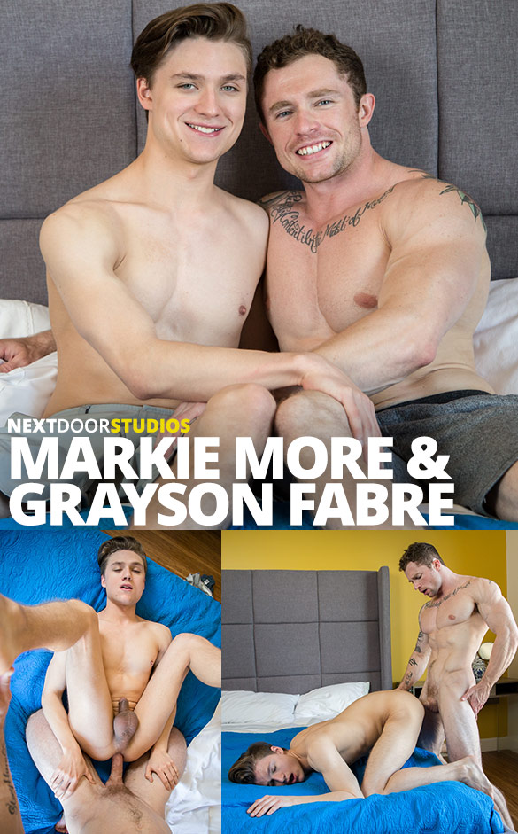 Next Door Studios: Markie More fucks Grayson Fabre