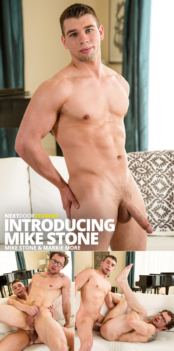 Next Door Studios: Markie More bottoms for newcomer Mike Stone