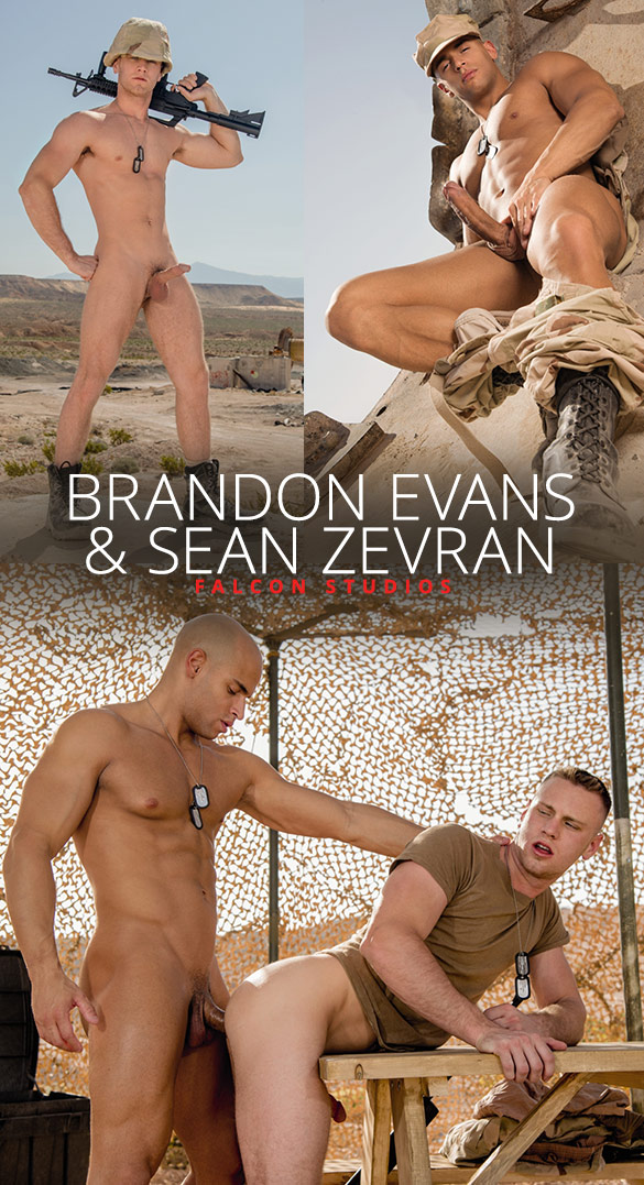 "Falcon Studios: Sean Zevran fucks Brandon Evans in ""Code of Silence"""