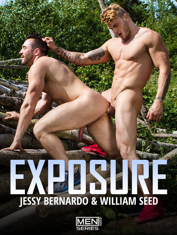 "Men.com: William Seed drills Jessy Bernardo in ""Exposure, Part 1"""