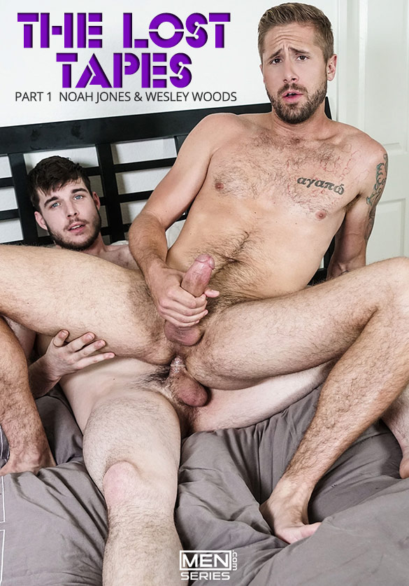 "Men.com: Noah Jones fucks Wesley Woods in ""The Lost Tapes, Part 1"""