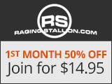 Raging Stallion Special Offer