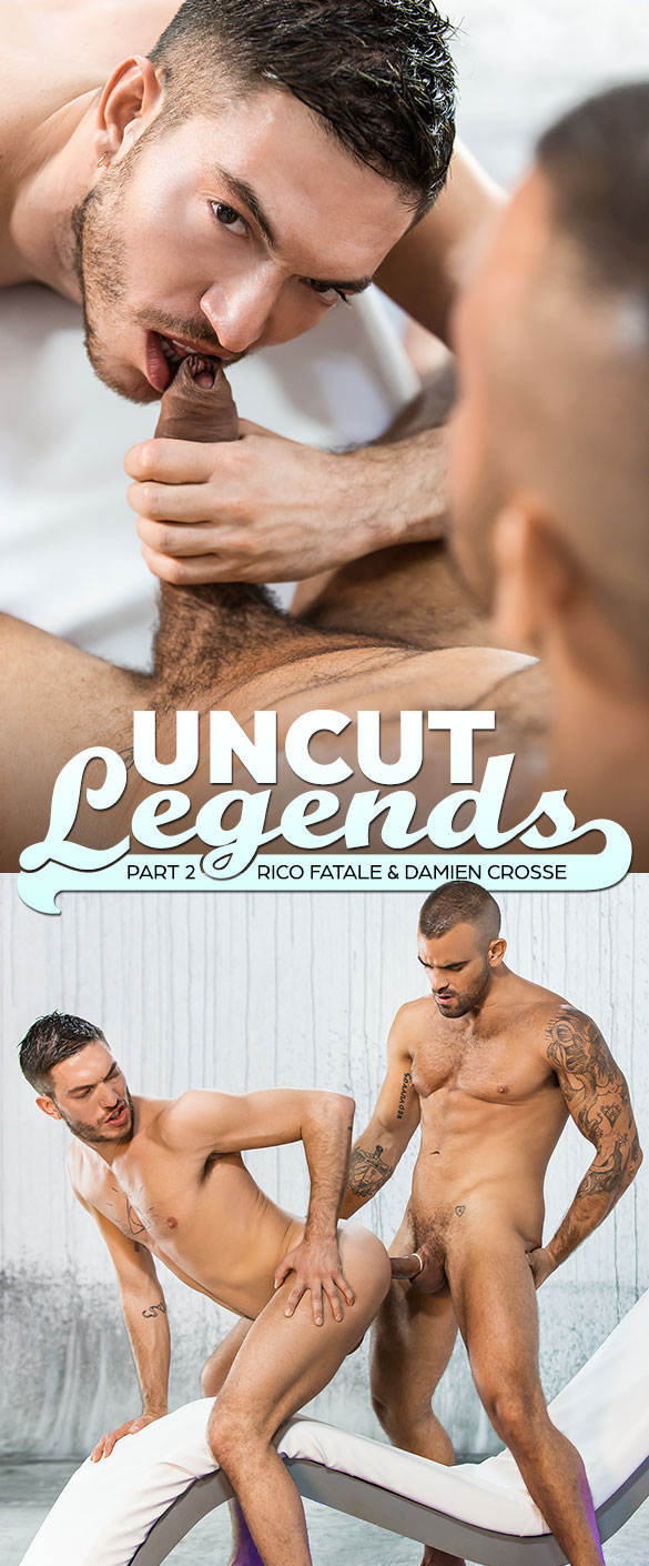 "Men.com: Damien Crosse and Rico Fatale pound each other in ""Uncut Legends, Part 2"""
