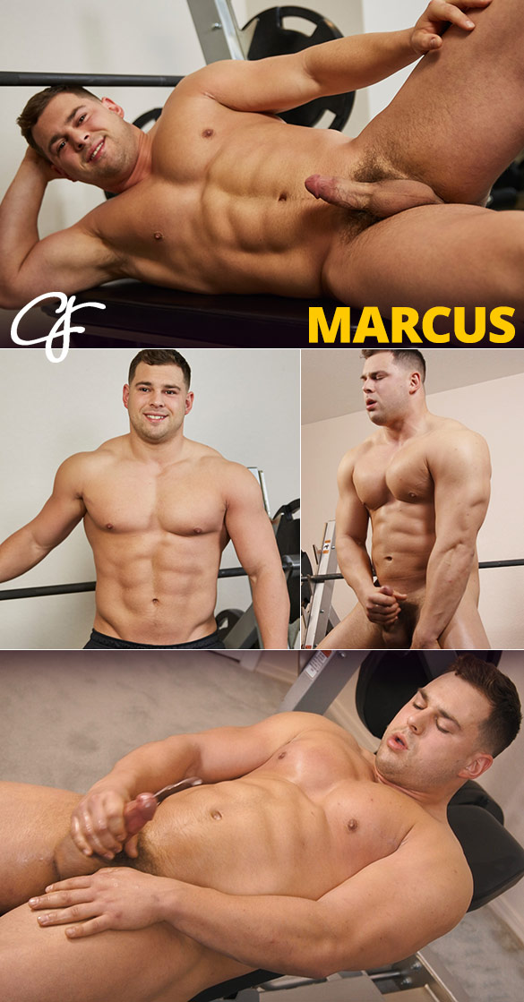 Hunky Marcus Mojo Blows His Load