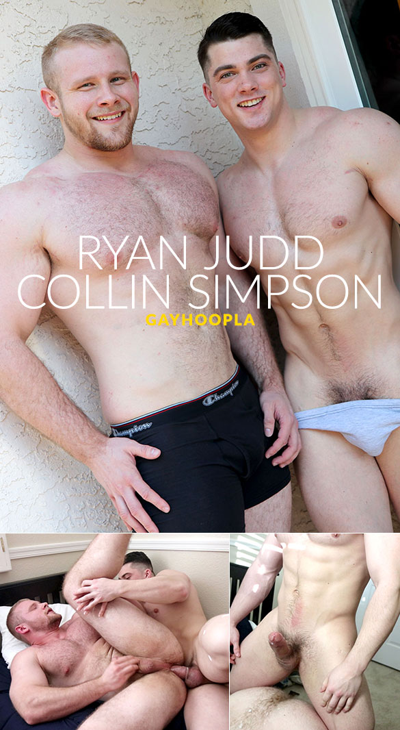GayHoopla: Collin Simpson fucks Ryan Judd