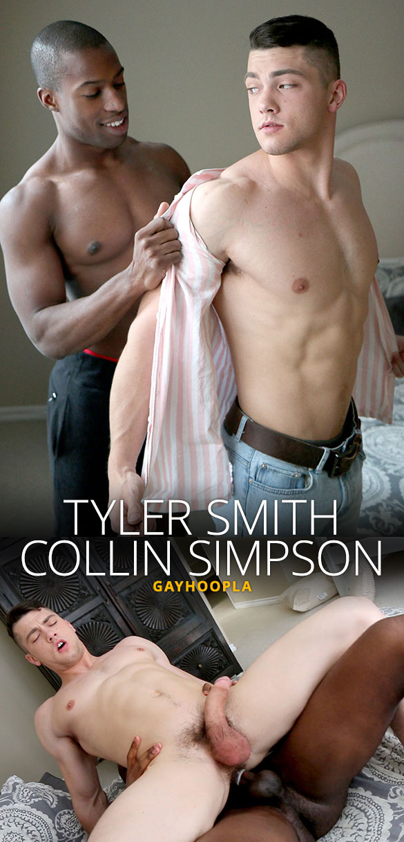"GayHoopla: Tyler Smith fucks Collin Simpson (""Round 2"")"