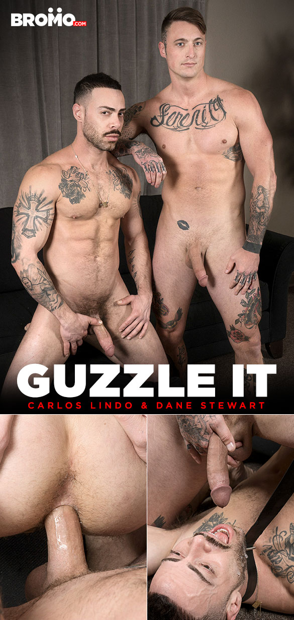 "Bromo: Dane Stewart bangs Carlos Lindo raw in ""Guzzle It"""