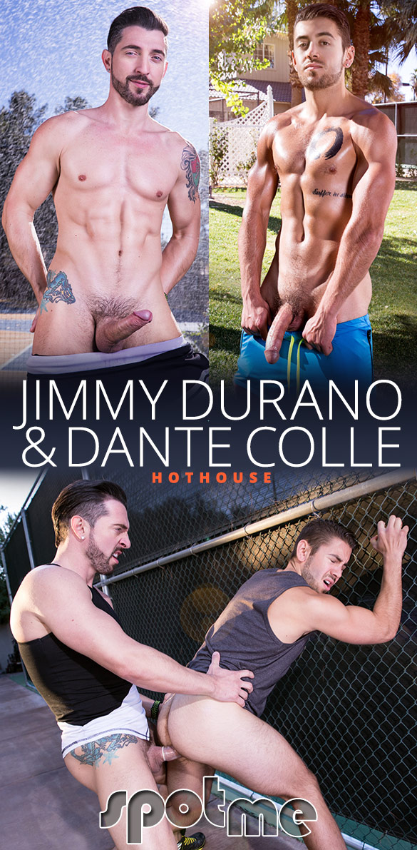 "HotHouse: Jimmy Durano fucks Dante Colle in ""Spot Me"""