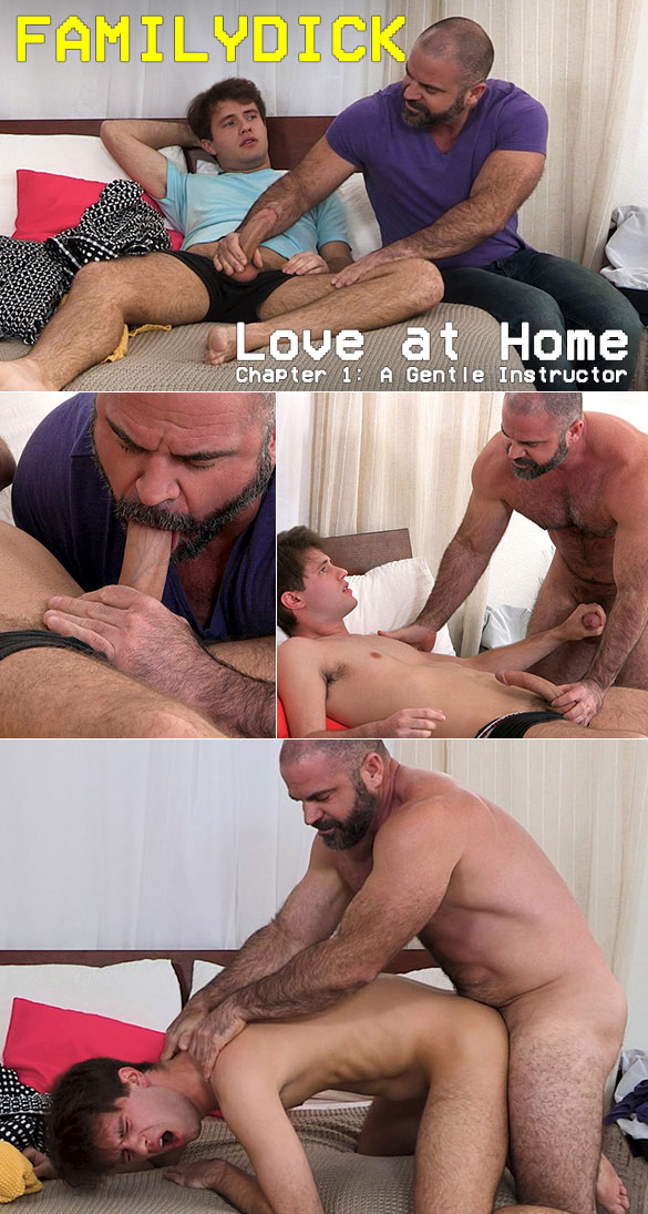 "FamilyDick: ""Love at Home – Chapter 1: A Gentle Instructor"""