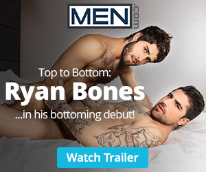 Top to Bottom: Ryan Bones at Men.com