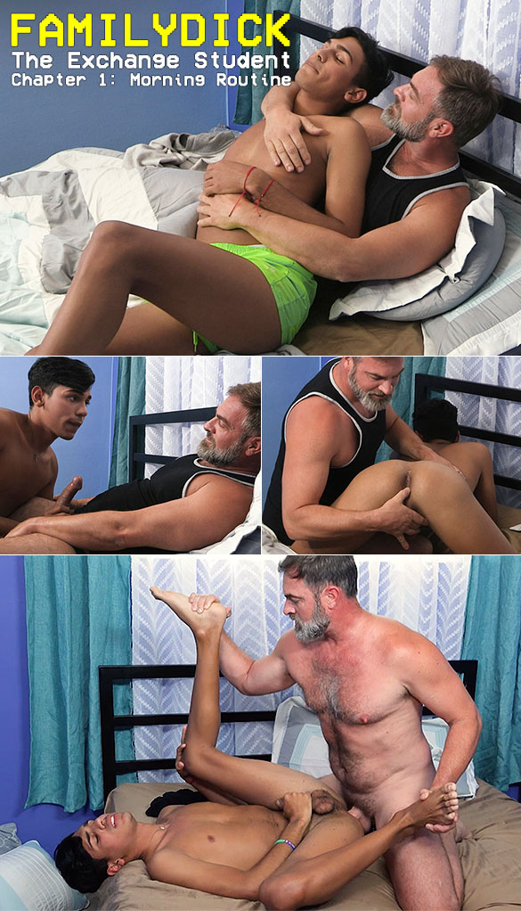 "FamilyDick: ""The Exchange Student - Chapter 1: Morning Routine"""